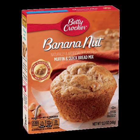 Betty Crocker banana nut muffin and quick bread mix