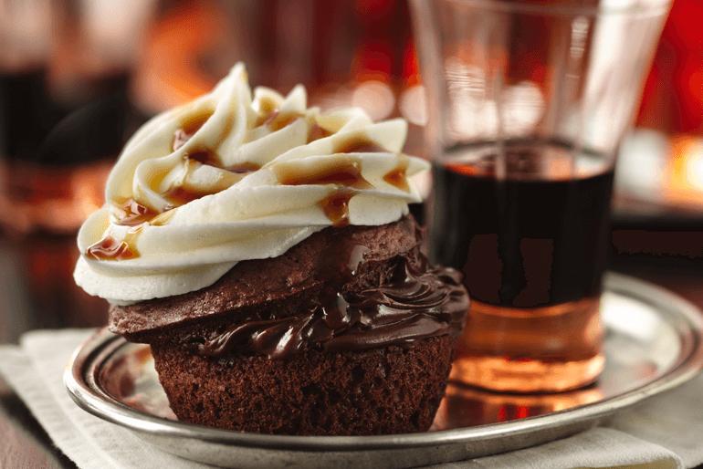Betty Crocker boozy bourbon chocolate cupcakes