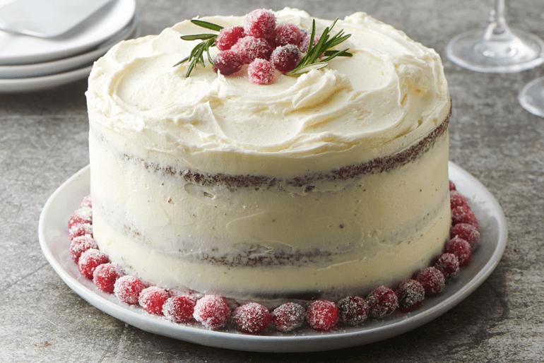 Betty Crocker Christmas celebration cake