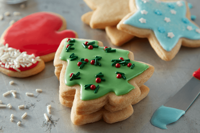 Betty Crocker Christmas sugar cookie cutouts