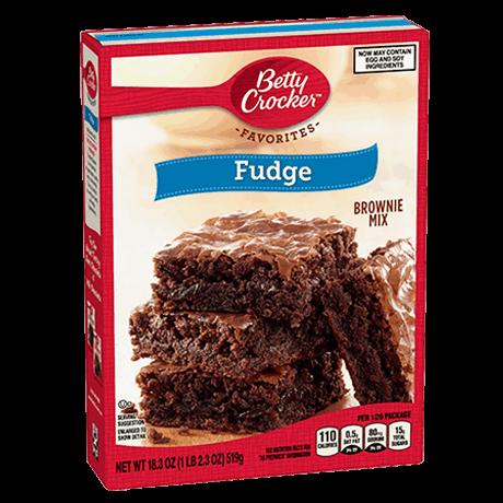 Preparado para fudge mezcla brownie