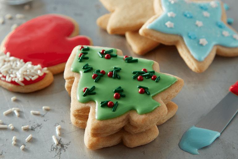 Receta galletas de azucar navideñas